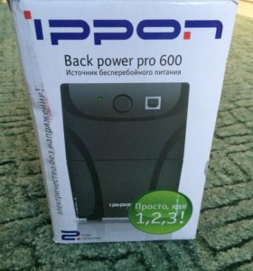 Ippon back power pro 600 Ибп