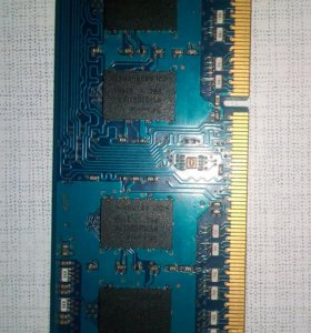 Оперативная память ноутбука.