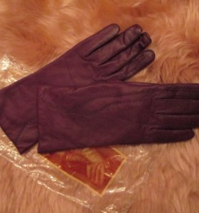 Перчатки кожаные edmins новые