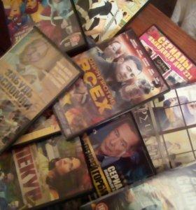 Фильмы,сериалы на дисках