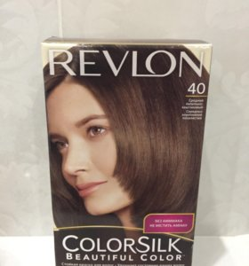 Краска для волос Revlon средне-пепельно каштановый