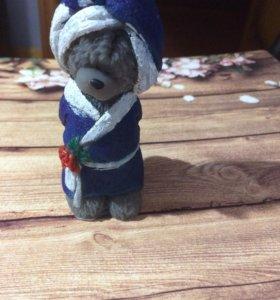 Мишка Тедди в халате- мыло ручной работы