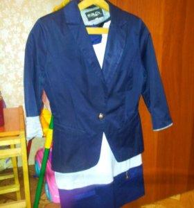 Пиджак+платье
