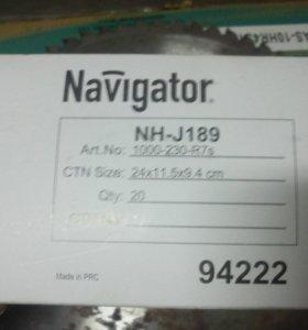 Лампа галогенная NH-J189-1000-230-R7s