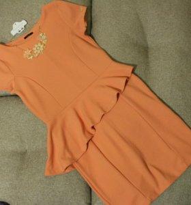 Платье MOHITO персиковое