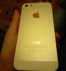Продам айфон 5s (золотой) или обмен на Sony Z3