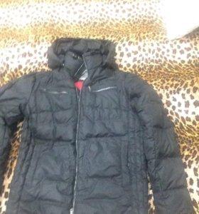 Пуховая тёплая куртка