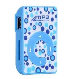 Мр3-плеер с зарядкой и наушниками