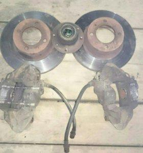 Суппорта и диски + ступицана ВАЗ 2101-2107