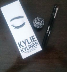Подводка карандаш кисть Kylie