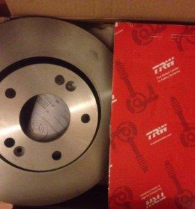 Комплект тормозных дисков TRW для Huynday/KIA
