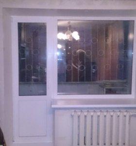 Окна, балконы и двери
