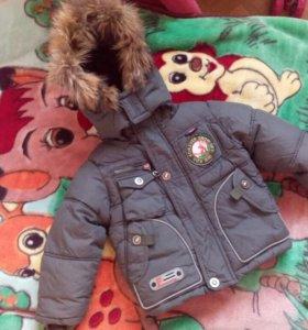 Курточка зима 92р-р