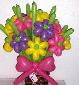 Доставка гелиевых шаров и игрушек из шаров на праз