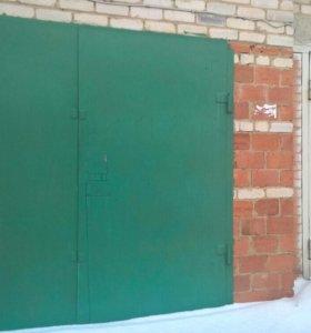Кирпичный гараж 49 кв м