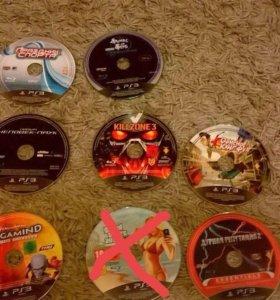 Игровые диски на консоль PS 3