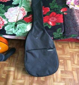 Гитара и чехол