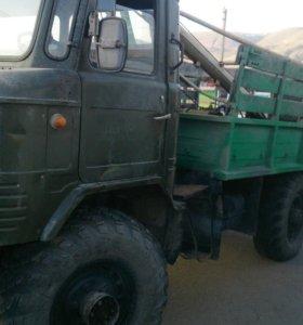 Ямо-бур на базе ГАЗ-66.
