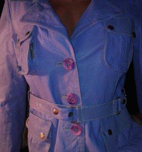 Кожаная куртка Fiomio