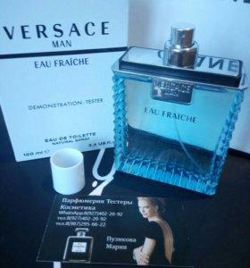 Духи тестер Versace- man Eau fraiche