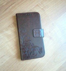 Чехол—книжка для Samsung Galaxy I9502 (mini)
