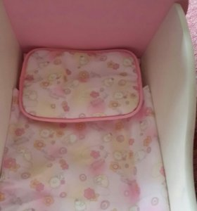 кроватка люлька для куклы Беби Анабель