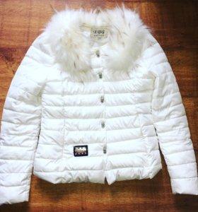 Тёплая куртка новая