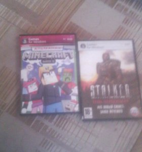 Диски с играми для PC.