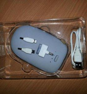 Power bank 5200 mAh внешний аккумулятор