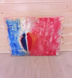 Картина, абстракция, холст, масло