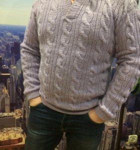 Мужские свитера,ручная работа