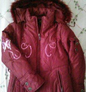 Куртка на 7-8лет, зимняя