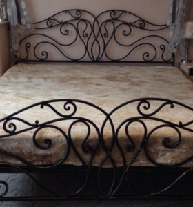 Художественная ковка. Кровать