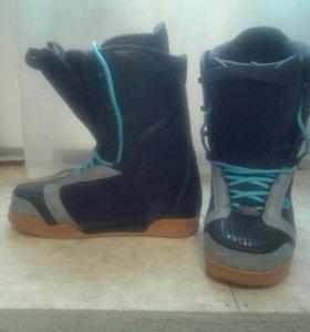 Горнолыжные ботинки мало б/у