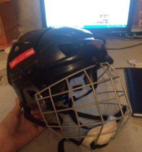 Хоккейный шлем Mission(black)