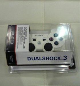 Геймпад (Джойстик) PS3 White