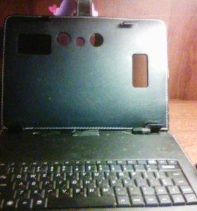 Чехол клавиатура для планшета