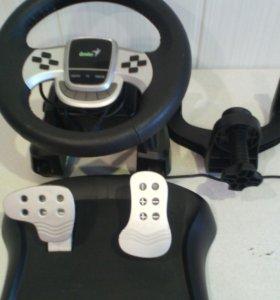 Руль игровой с педалями