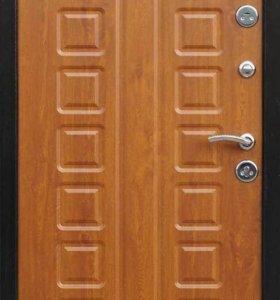 """Входная дверь """"Йошкар"""" золотистый дуб"""