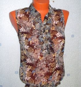 Легкая блуза, блузка zolla шифон