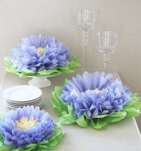 Цветы Кувшинки из бумаги