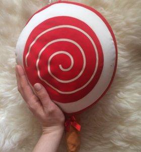 Подушка-игрушка Антистресс Леденец на палочке