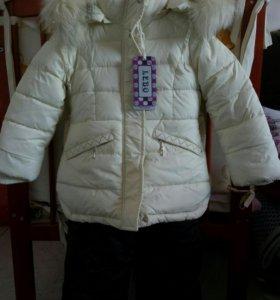 Новый Зимний костюм 92р