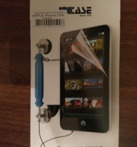 Защитная плёнка iPhone 5/5s/5c/SE