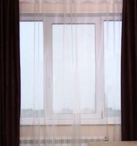 Шторы на окно новые