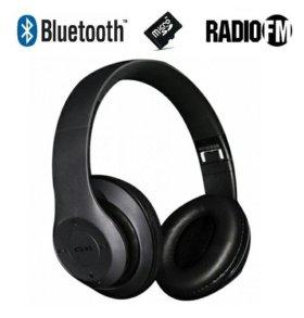 Беспроводные Bluetooth наушники с FM и MP3 плеером