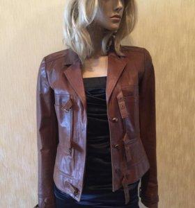 Кожаная куртка John Galliano (оригинал)