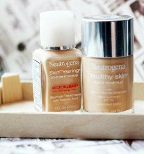 Neutrogena SkinClearing & Healthy Skin foundations