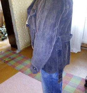 Куртка мужская замшевая