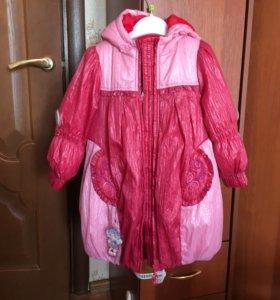 Пальто демисезонное 104-110